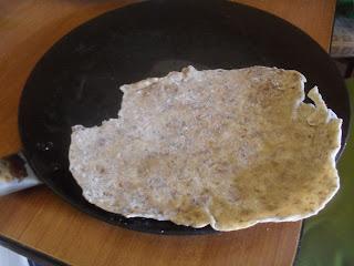 chapati ricetta fai da te vegan  pane indiano