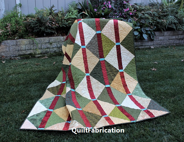 McKenzie quilt by QuiltFabrication