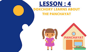 Dokchory Learns about the Panchayat class 8 Assam English Question Answer, NCERT solutions