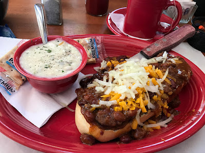 Iron Dog from the Bucket Sports Grill