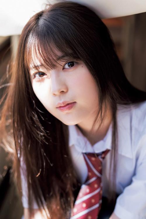 Rei Seimiya 清宮レイ, Renka Iwamoto 岩本蓮加, Young Jump 2021 No.42 (ヤングジャンプ 2021年42号)