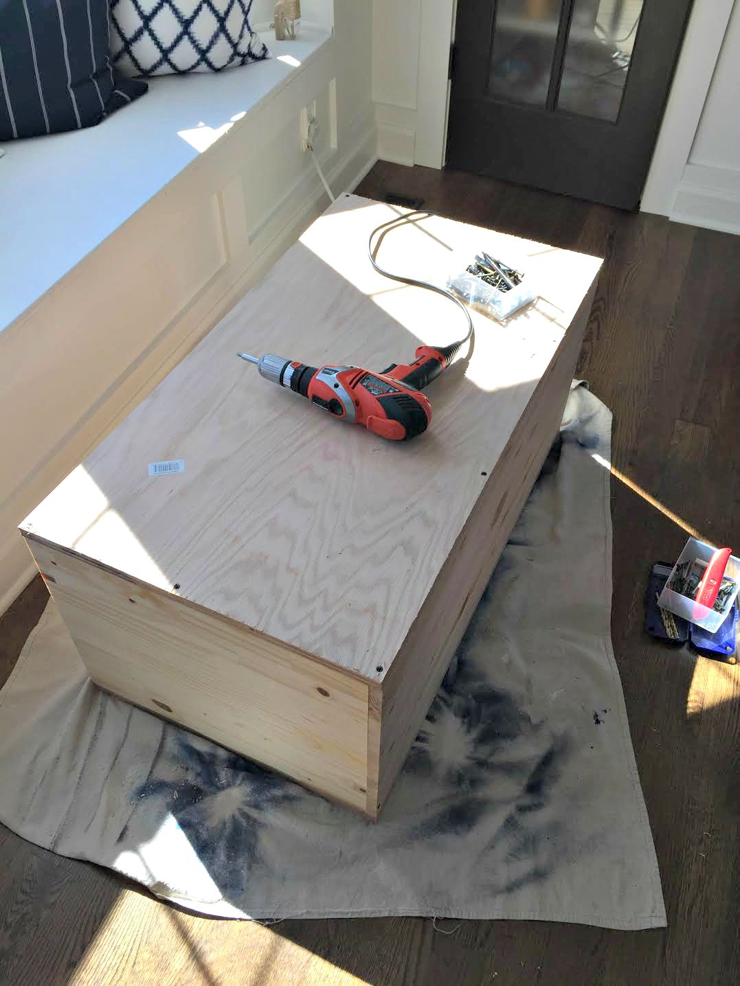 How to build up cabinets to ceiling