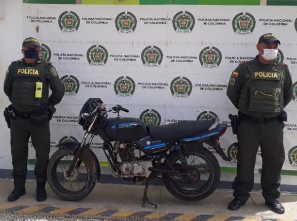 Aparecen en Uribia motos robadas en Barranquilla