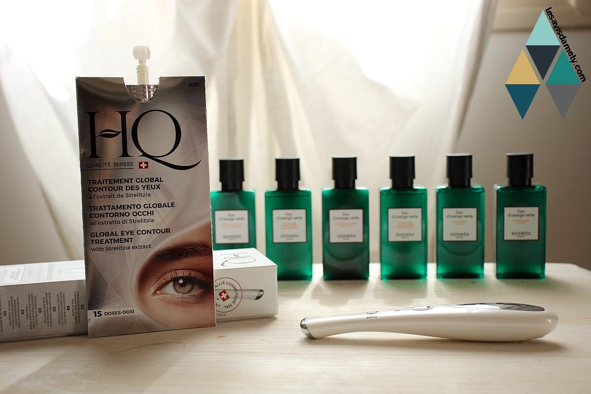 avis soin traitement global contour des yeux hydratant anti poche HQ