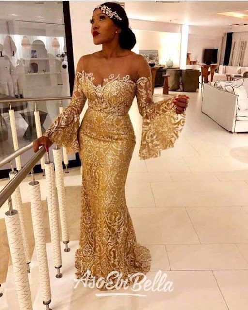 Latest Aso Ebi Style for 2020