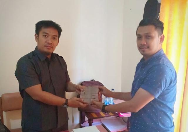 Kejari Tebo Terima Denda Dari Eks Kaban Pertanahan Tebo Hasnadi, S.H Tahanan Kasus Gratifikasi Sertfikat Prona