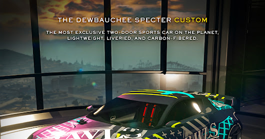 GTA V - Dewbauchee Specter Collection Time Now Available in GTA Online