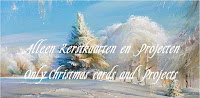 My Facebookgroup /Alleen Kerstkaarten / Only Christmas Cards  2500 Followers