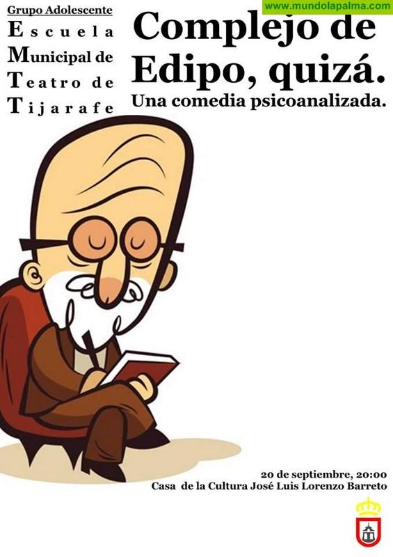 """Teatro """"Complejo de Edipo, quizá"""" en Tijarafe"""