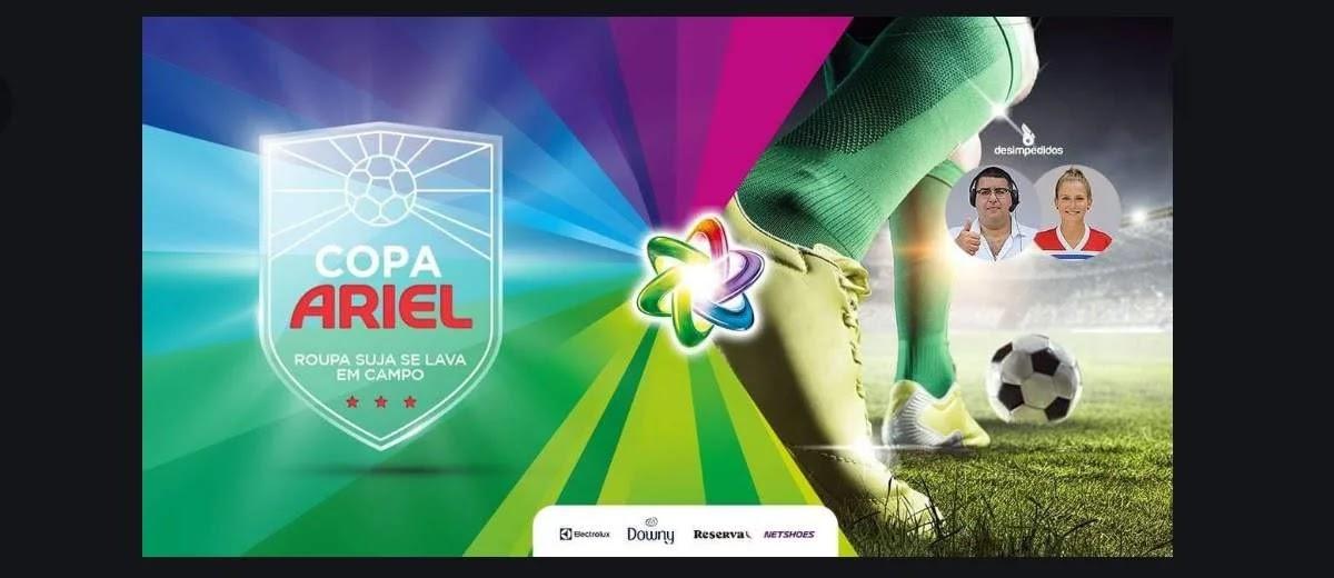 Participe Grátis Copa Ariel 2020 Concorra Prêmios