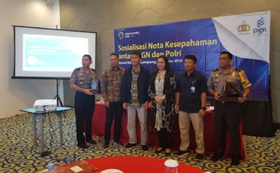 PGN-Polri Jalin Kerjasama Amankan Objek Vital Nasional (Obvitnas)