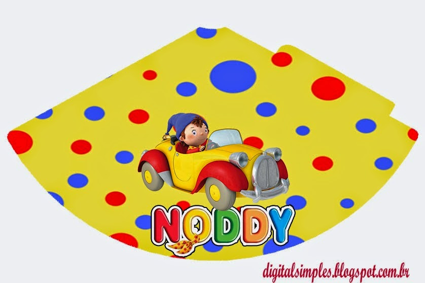 Noddy Free Printable Banner.