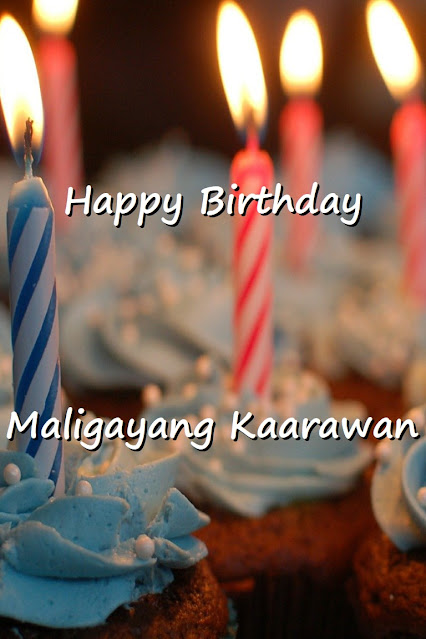 Happy Birthday Word List in Tagalog