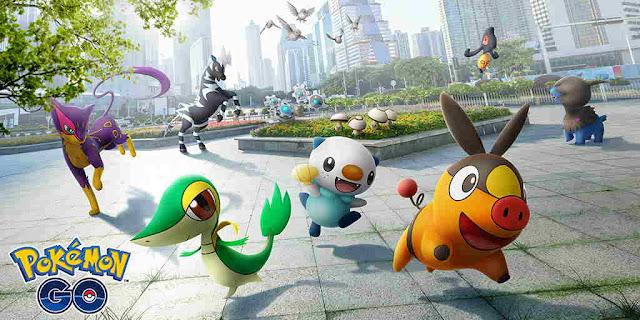 Game Pokemon GO Menambahkan Unova Pokemon