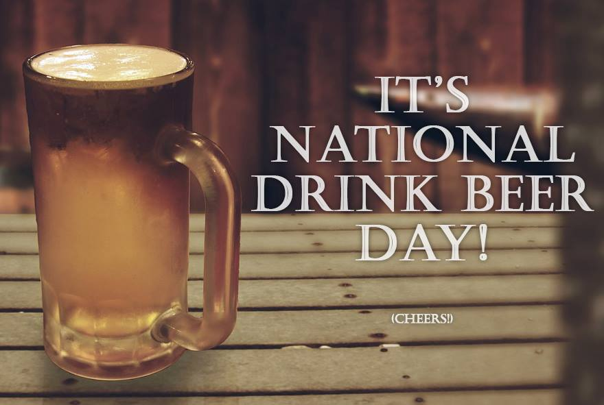 National Drink Beer Day Wishes Beautiful Image