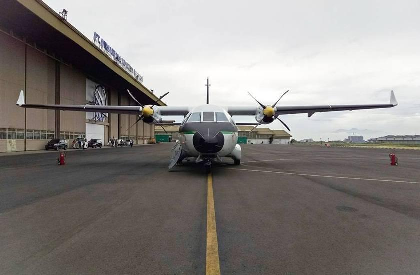 Bentuk pesawat CN235 - 220M pesanan Sinegal