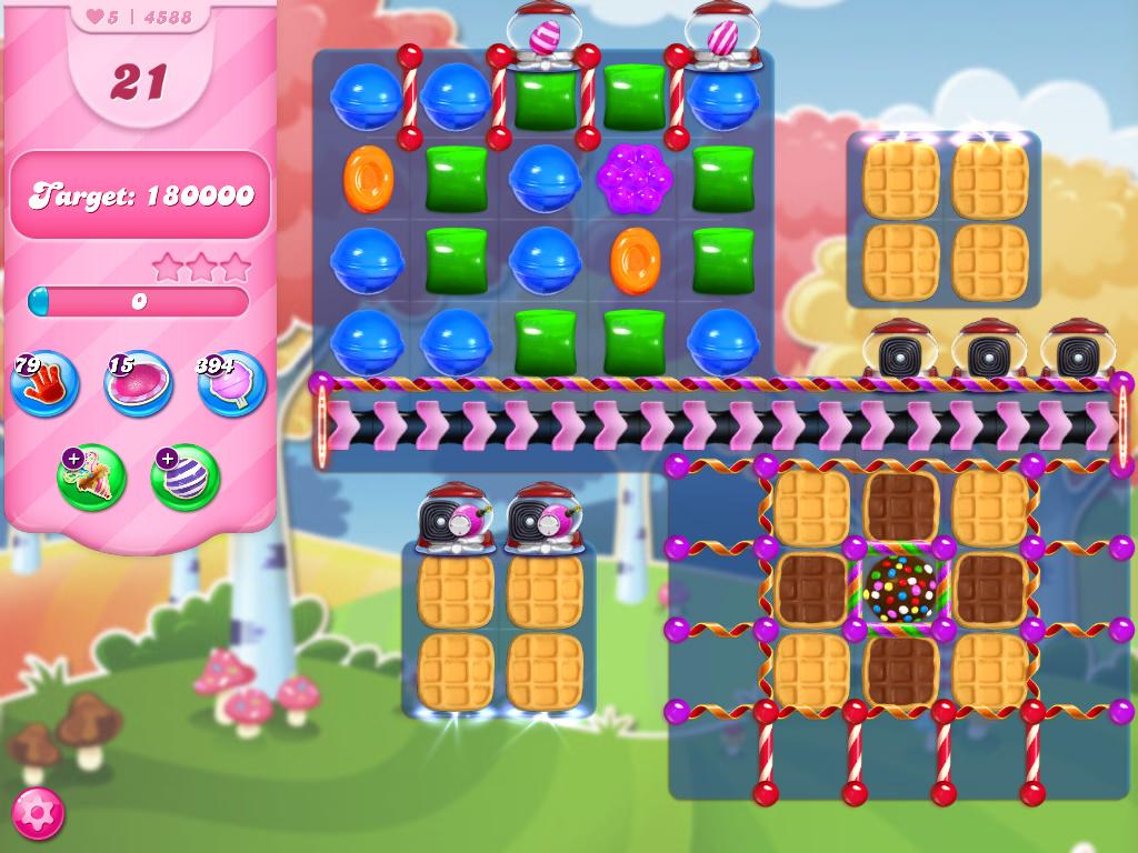 Candy Crush Saga level 4588