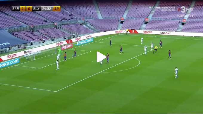 VIDEO: Barcelone 1:0  Elche / Friendly Match