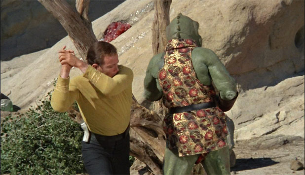 Gorn Kirk William Shatner Star Trek TOS randommusings.filminspector.com