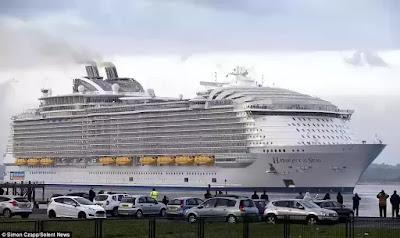 $1 billion cruise ship Harmony of the seas