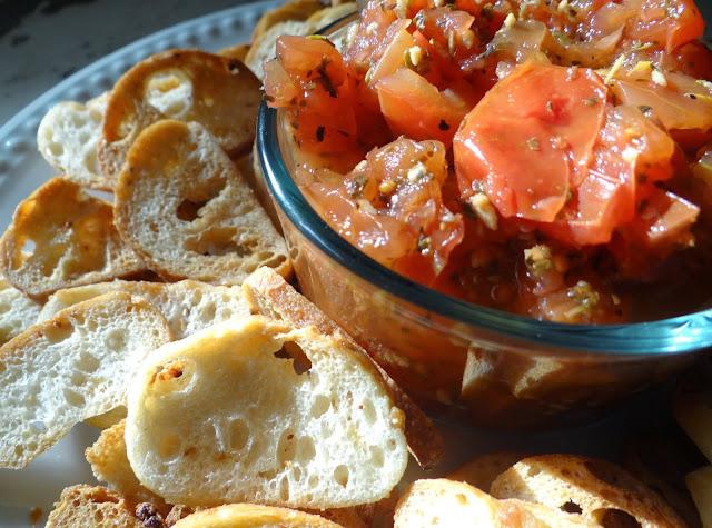 Homemade Bruschetta #Recipe