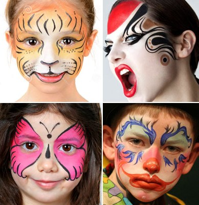 Easy face painting ideas step by step