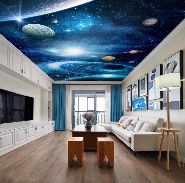 Living room 3d false ceiling design