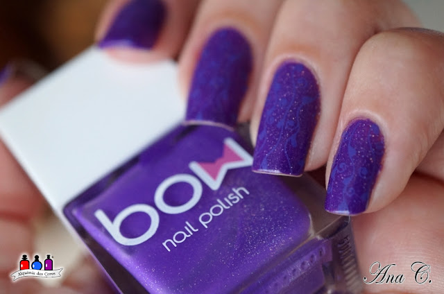 Bow Nail Polish, Bow Thermo, Top Coat Violet, Bow Violet, EDK tuco, sugar bubbles 18, sb 018