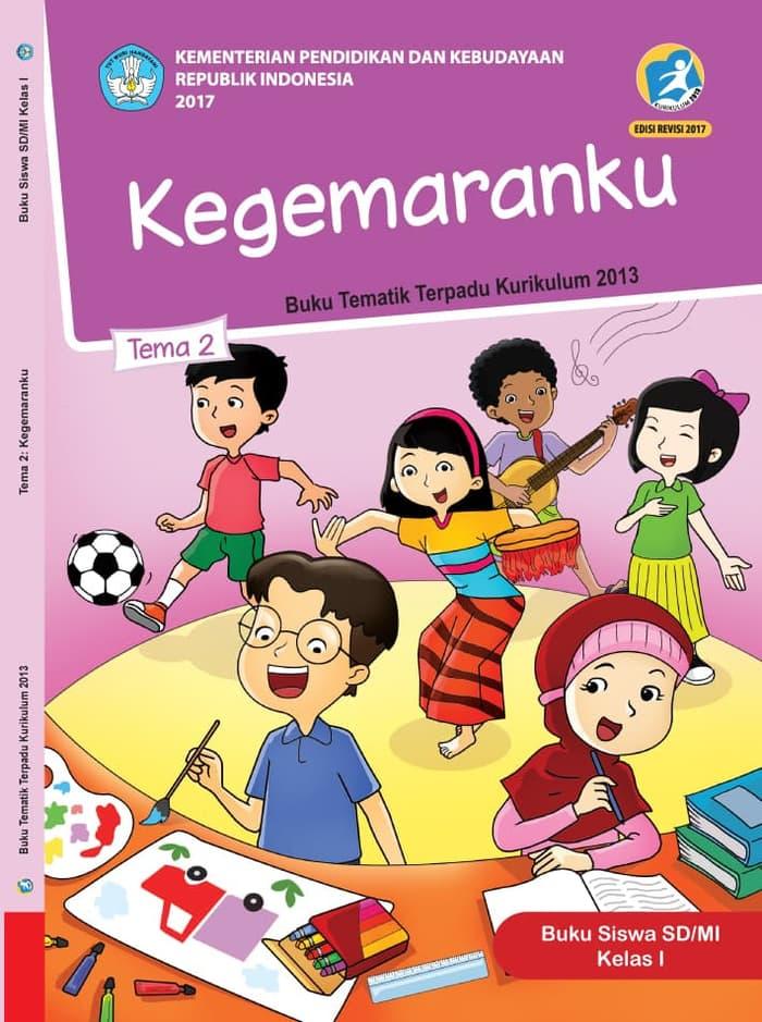 Buku Siswa Tematik SD Kelas1 Tema 2 Kegemaranku