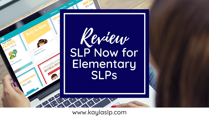 Review: SLP Now for Elementary SLPs