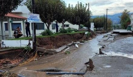 Οι 10 περιοχές στην Ελλάδα που κινδυνεύουν άμεσα από πλημμύρες