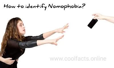 How to identify Nomophobia ?