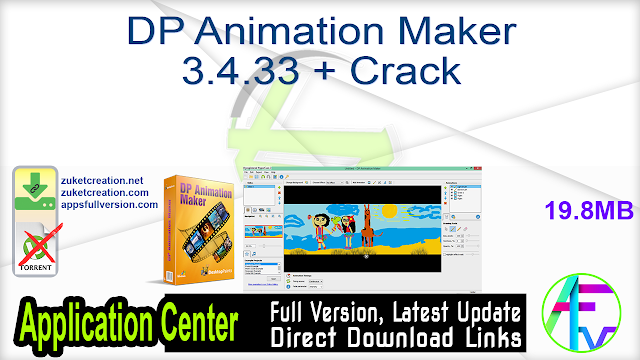 DP Animation Maker 3.4.33 + Crack