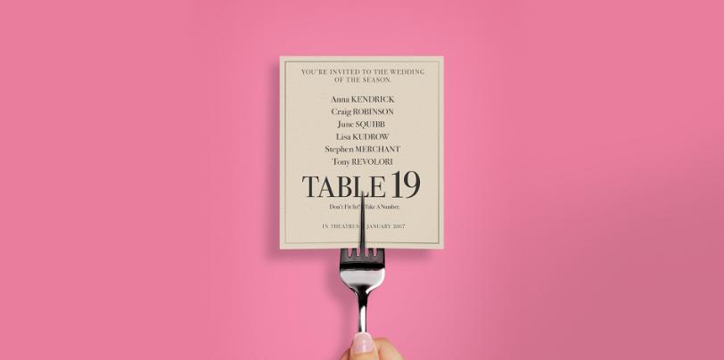 Sinopsis Film Table 19 (2017)