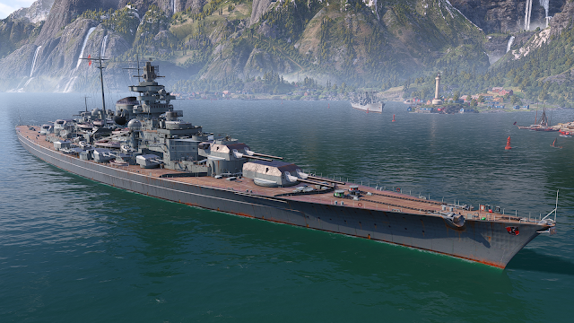 world of warships tirpitz