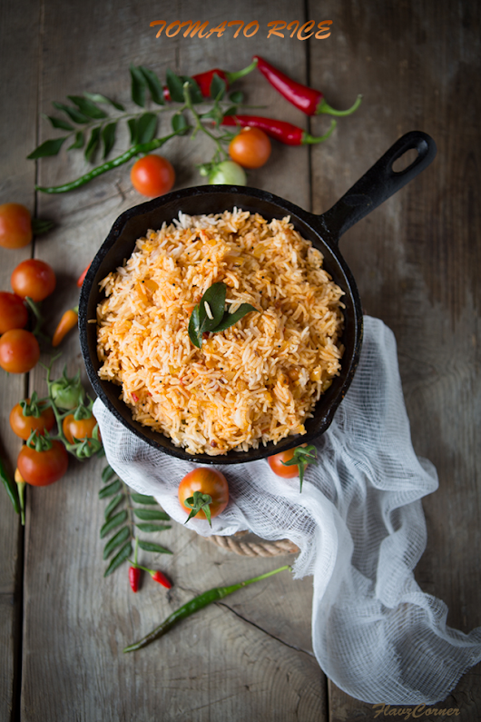 Indian Style Tomato Rice