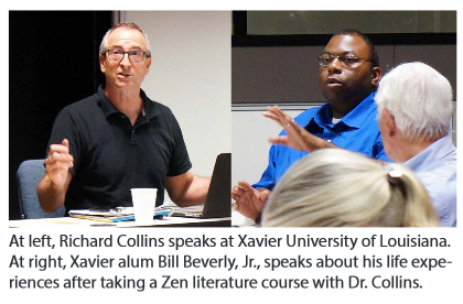 Richard Collins speaks at Xavier University (Photo from ACMHE Summer 2015 Newsletter)
