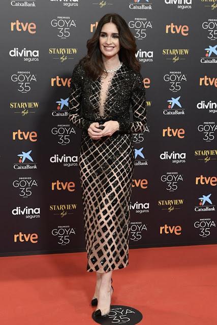 PAZ VEGA at Goya Cinema Awards 2021 in Malaga