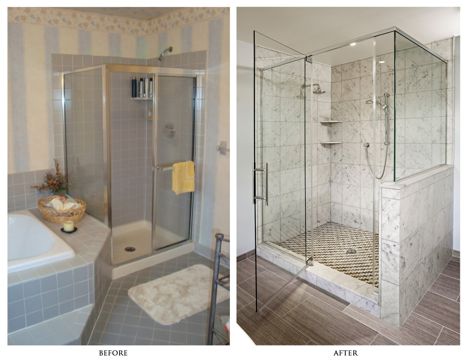 Best bathroom remodeling ideas with before and after for Bathroom renovation before and after