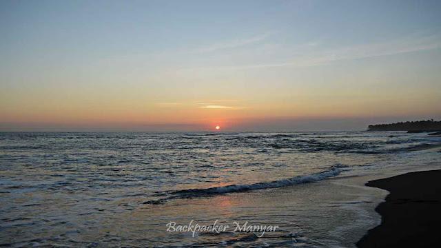 Sunset Di Pantai Munggu Bali