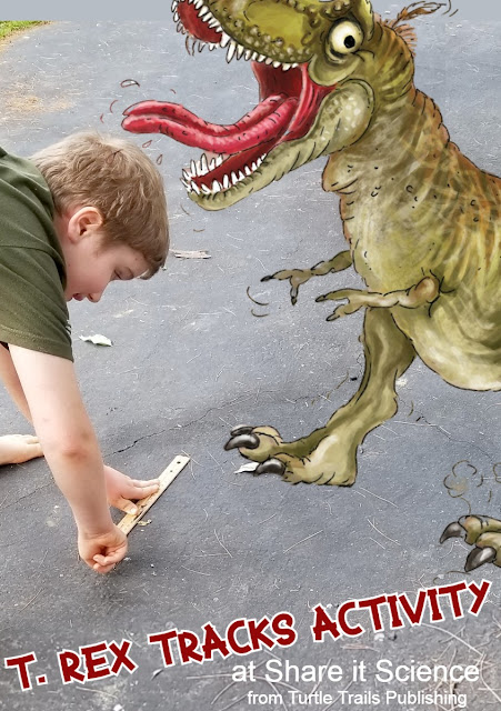 T. Rex Dinosaur Math and Science Activity