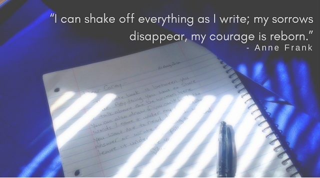 I can't shake off everything as I write [Simple ways to communicate today]