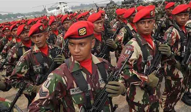 Bravo TNI! Hasil Survey Rakyat Indonesia Paling Percaya Institusi TNI