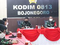 Tim Audit Itjen TNI Kunjungi Kodim 0813 Bojonegoro