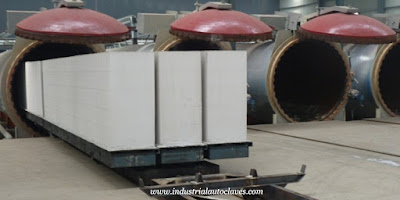 Customer from Slovenia visited autoclave factory for AAC blocks