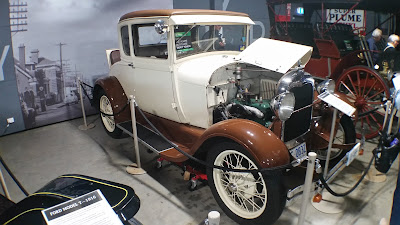 1928 Model A Ford at the Car Museum.