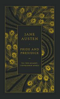 Pride and Prejudice by Jane Austen book cover