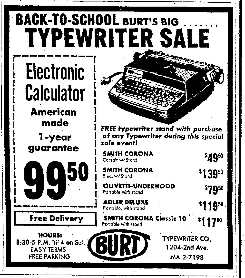 Royal Typewriters: History of my Smith-Corona Classic 10