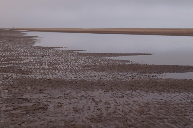 Wells Next The Sea beach in winter
