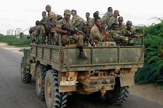 Soldats de l'armée éthiopienne